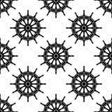 Seamless pattern with helms Stock Images
