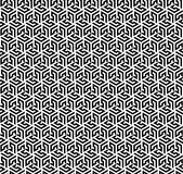 Seamless pattern (Hex based). A seamless hexagonal based pattern stock illustration