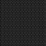Seamless pattern of the hexagonal mesh. Stock Images
