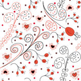 Seamless pattern with hips Royalty Free Stock Image