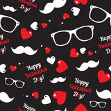 Seamless  pattern for hipsters Royalty Free Stock Photo