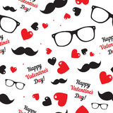 Seamless  pattern for hipsters Royalty Free Stock Images