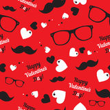 Seamless  pattern for hipsters Stock Photos
