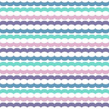 Seamless pattern with horizontal chains Royalty Free Stock Photography