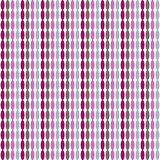 Seamless pattern with horizontal ellipses chains. Royalty Free Stock Photo