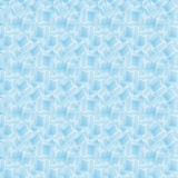 Seamless pattern with ice cubes water decoration frost transparent liquid Stock Photography