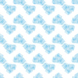 Seamless pattern with ice cubes water decoration frost transparent liquid Stock Photos
