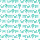Seamless pattern. Seamless icon pattern, technologycal design Royalty Free Stock Photo