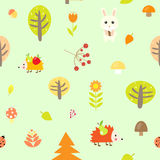 Seamless pattern  illustration Royalty Free Stock Image