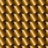 Seamless pattern with imitation of metal scales Royalty Free Stock Images
