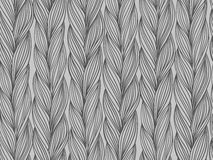 Seamless pattern imitation of sweater fabric Stock Image