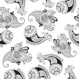 Seamless pattern of indian cucumbers Stock Images