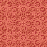 Seamless pattern indian ornament Stock Photos