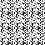 Seamless pattern with ink prints Royalty Free Stock Photography