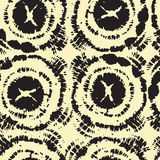Seamless pattern with ink prints. Hand drawn seamless pattern with ink prints Royalty Free Stock Image