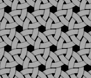 Seamless pattern of interlaced fiber. Vector Illustration. Seamless decorative pattern of interlaced fiber. Vector Illustration Royalty Free Stock Images