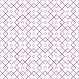 Seamless pattern with intersecting rhombuses. Stock Image