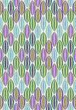 Seamless pattern with interweaving of thin lines Stock Photos