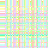 Seamless pattern of interwoven colored stripes. Seamless pattern in pastel colors of colorful interwoven stripes Stock Illustration