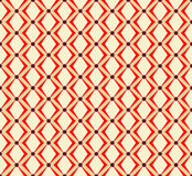 Seamless pattern japanese style, geometric background, vector Stock Images