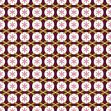 Seamless pattern japanese style, geometric flower background Royalty Free Stock Photography