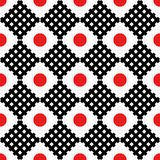 Seamless pattern in the Japanese style. Stock Image