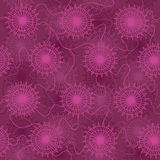 Seamless pattern of jellyfish Royalty Free Stock Photography
