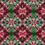 Seamless Pattern Kaleidoscope Stock Image