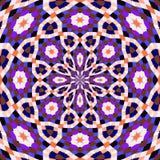 Seamless pattern kaleidoscopic texture background Royalty Free Stock Photography