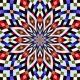 Seamless pattern kaleidoscopic texture background Royalty Free Stock Image
