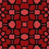 Seamless pattern kaleidoscopic texture background Stock Photography