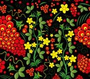 Seamless pattern. Khokhloma Royalty Free Stock Photo
