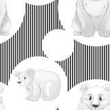 Seamless pattern with kid's theme Stock Photos