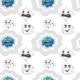 Seamless pattern with kid's theme Stock Image
