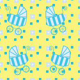 Seamless pattern for kids Stock Photos