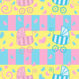 Seamless pattern for kids Royalty Free Stock Photography