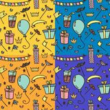 Seamless pattern for kids parties. vector illustration
