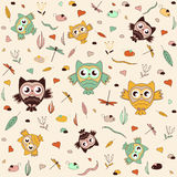 Seamless  pattern, kids sovyat template can be used for wallpaper, pattern fills, web page background, surface textures, fab Stock Photography