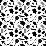 Seamless pattern of kitchen tools Royalty Free Stock Photography