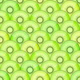 Seamless pattern with kiwi Stock Photo