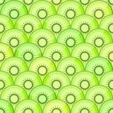 Seamless pattern with kiwi Stock Photo