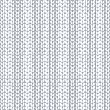 Seamless pattern. Knitted fabric. Wool knitting. White. Vector. royalty free illustration