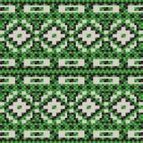 Seamless pattern of knitting Stock Image