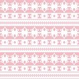 Seamless pattern lace elements Stock Photo