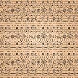 Seamless pattern with lacy design Royalty Free Stock Image