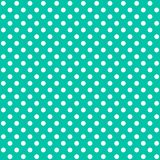 A seamless pattern is a large white dot on a electric green background. EPS Vector file. Suitable for filling any form stock illustration