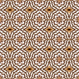 Seamless pattern with latte art coffee Royalty Free Stock Photography