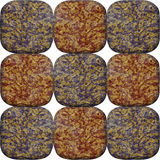 Seamless pattern of layered veined and rounded stones Royalty Free Stock Photo