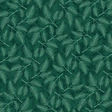 Seamless pattern with leaf Royalty Free Stock Image