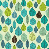 Seamless pattern with leaf, abstract leaf texture, endless backg Royalty Free Stock Photography